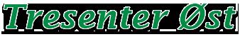 Tresenter Øst Logo